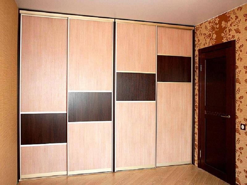 Большой встроенный шкаф купе шкаф на заказ по индивидуальным.