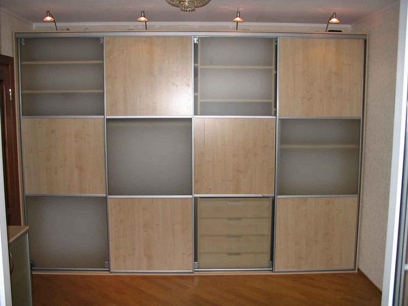 Встроенные шкафы купе во всю стену шкаф на заказ по индивиду.