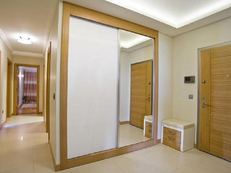 Шкафы купе с зеркалом в прихожую шкаф на заказ по индивидуал.